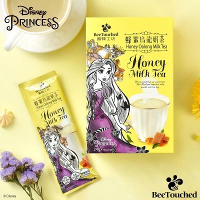 蜜蜂工坊 迪士尼公主系列蜂蜜烏龍奶茶(24gx10包)