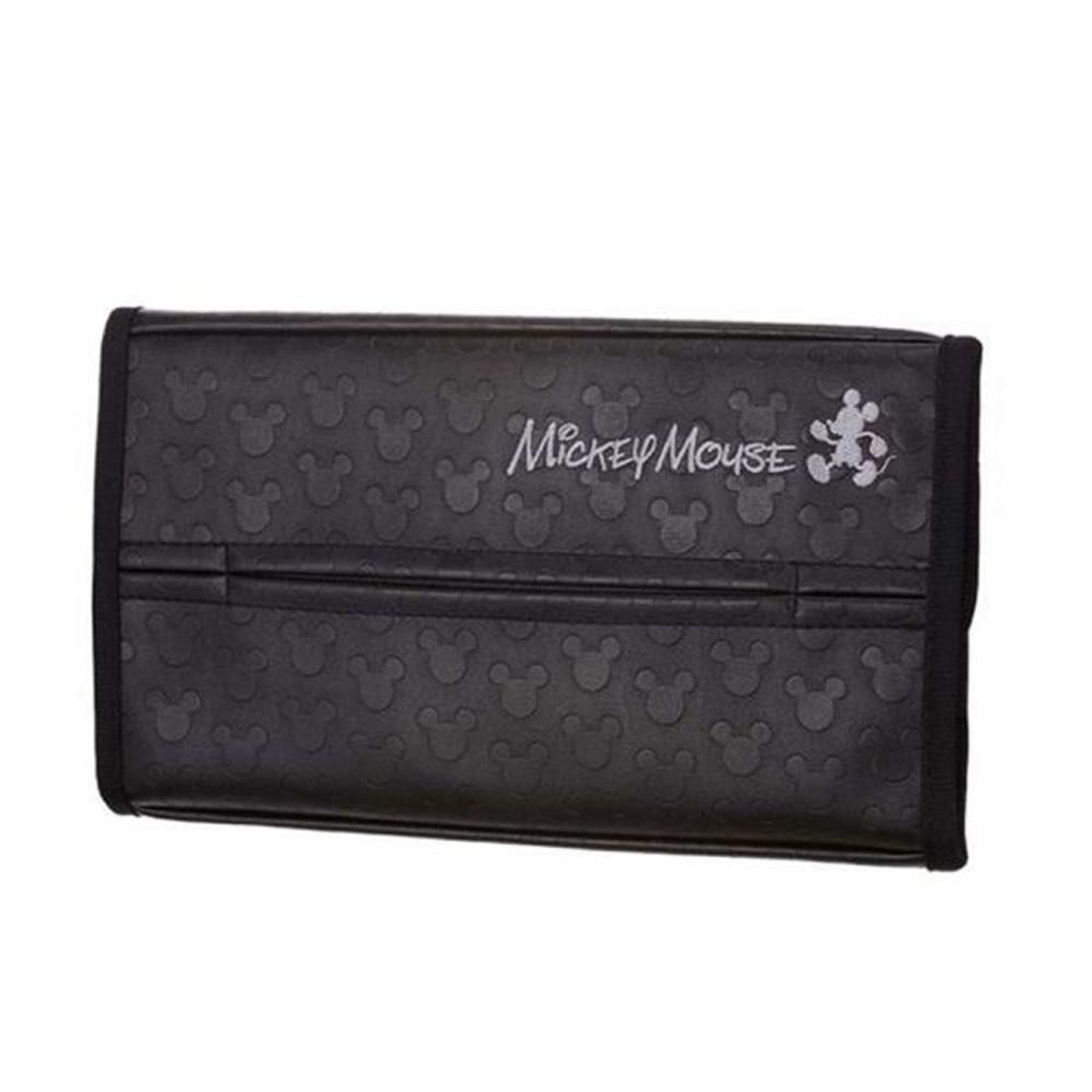 日本NAPOLEX WD-355 影子米奇 遮陽板面紙盒套