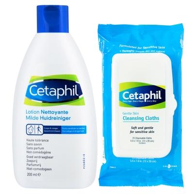 Cetaphil舒特膚 經典潔膚雙星組