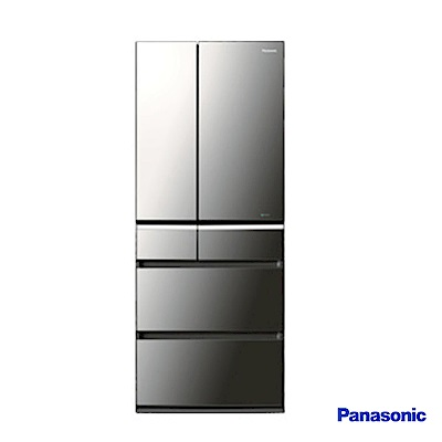 Panasonic 國際牌 608L日製六門 變頻電冰箱 NR-F611VX-X1