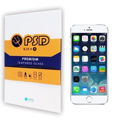 PSD APPLE IPHONE 7 PLUS 9H疏油疏水抗刮玻璃保護(附保固...