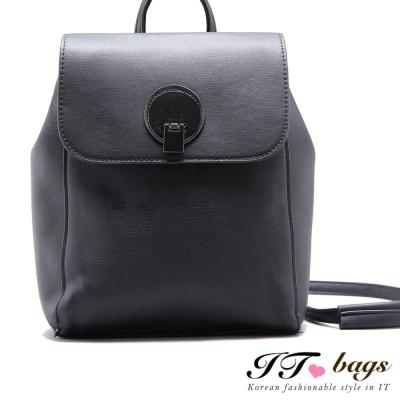 It Bags 三用包 諾貝爾時尚簡約環扣後背包  共二色