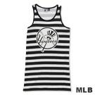 MLB-紐約洋基隊條紋長版印花背心-黑(女)