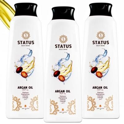 西班牙STATUS阿鞏油強力修護洗髮乳750ml三入
