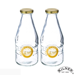 KILNER 玻璃牛奶罐 568ml 二入組(8H)