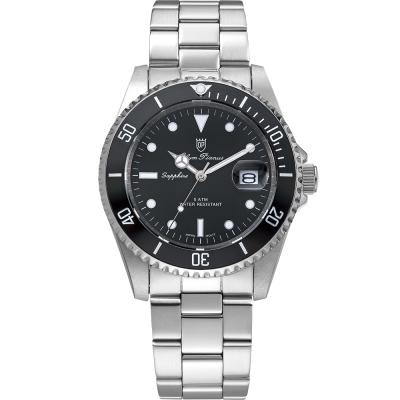奧柏表 Olym Pianus 典藏風采石英腕錶-黑 899831MS