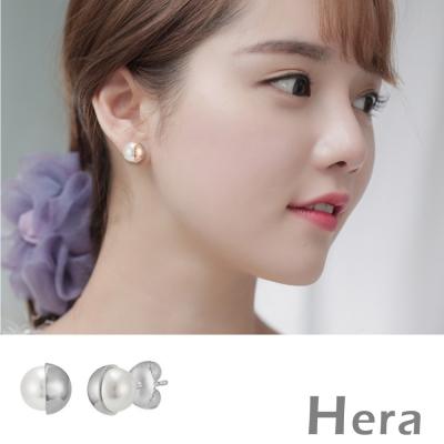 Hera 赫拉 太陽的後裔宋慧喬款金屬珍珠耳針/耳環-2色