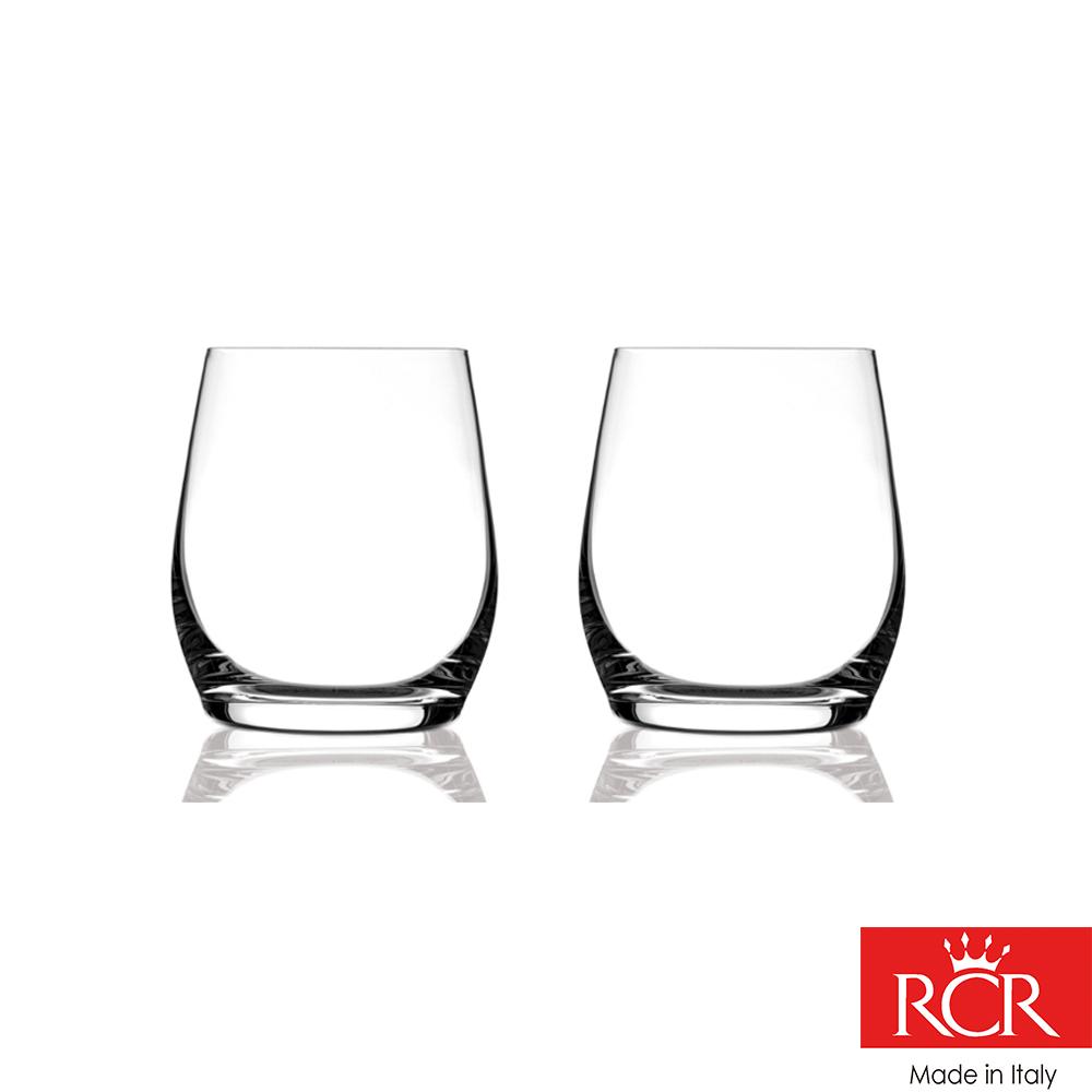 義大利RCR茵芙曼無鉛水晶 威士忌杯 (2入)370cc