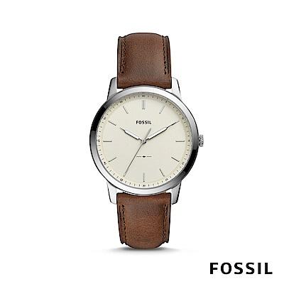FOSSIL THE MINIMALIST 簡約設計輕薄款男錶 約44mm FS5439