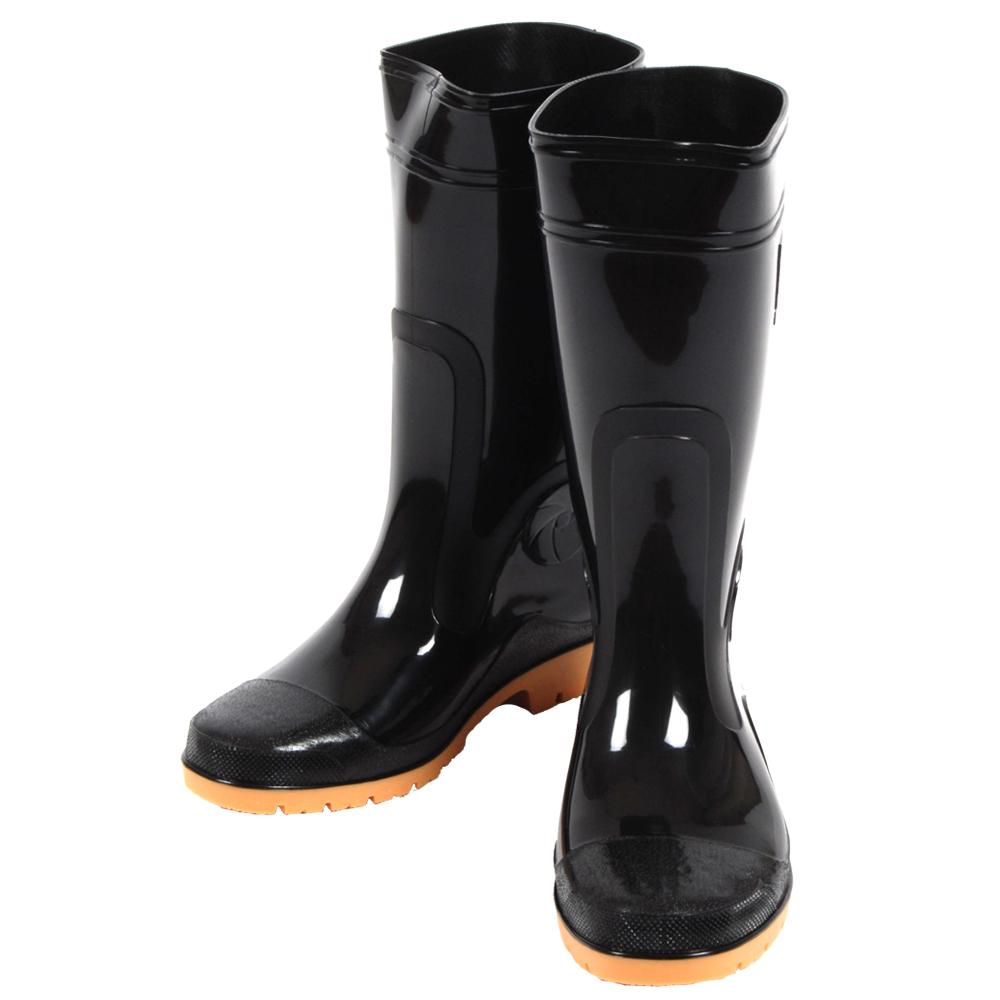 達新牌 勁帥 專業防滑防水雨鞋 (黑色)