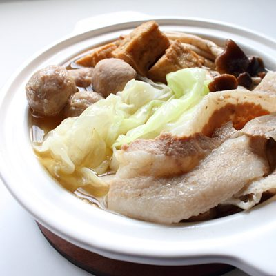 任選【老東山】日式豬肉鍋-獨享鍋(800g/鍋)