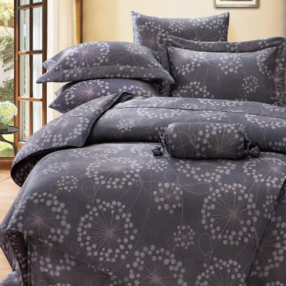 Saint Rose 帕洛瑪 加大100%純天絲兩用被套床包四件組