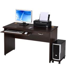 LOGIS-精選MIT安德斯實用電腦桌/電腦桌(附主機架) 寬120*深60*高74CM
