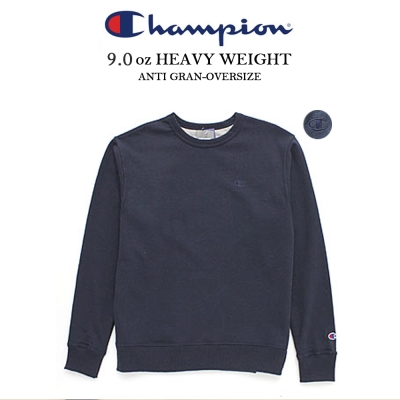 冠軍美規CHAMPION BASIC TEE大學服電繡重磅數 丈青色