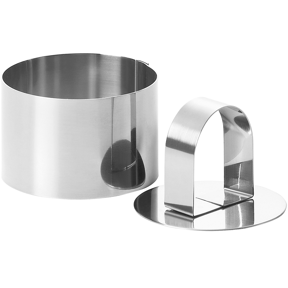 EXCELSA 不鏽鋼塑型環 壓器(圓9cm)