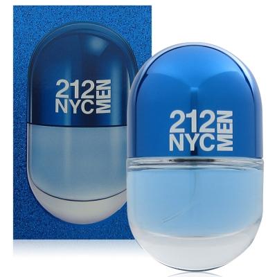 CH 212 NYC男性淡香水20ml (2017紐約膠囊版)