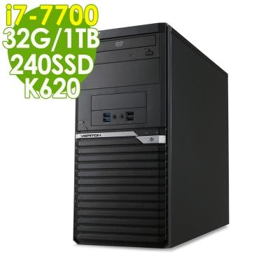 Acer VM6650G i7-7700-32G-1TB-240SSD-K620-W10P