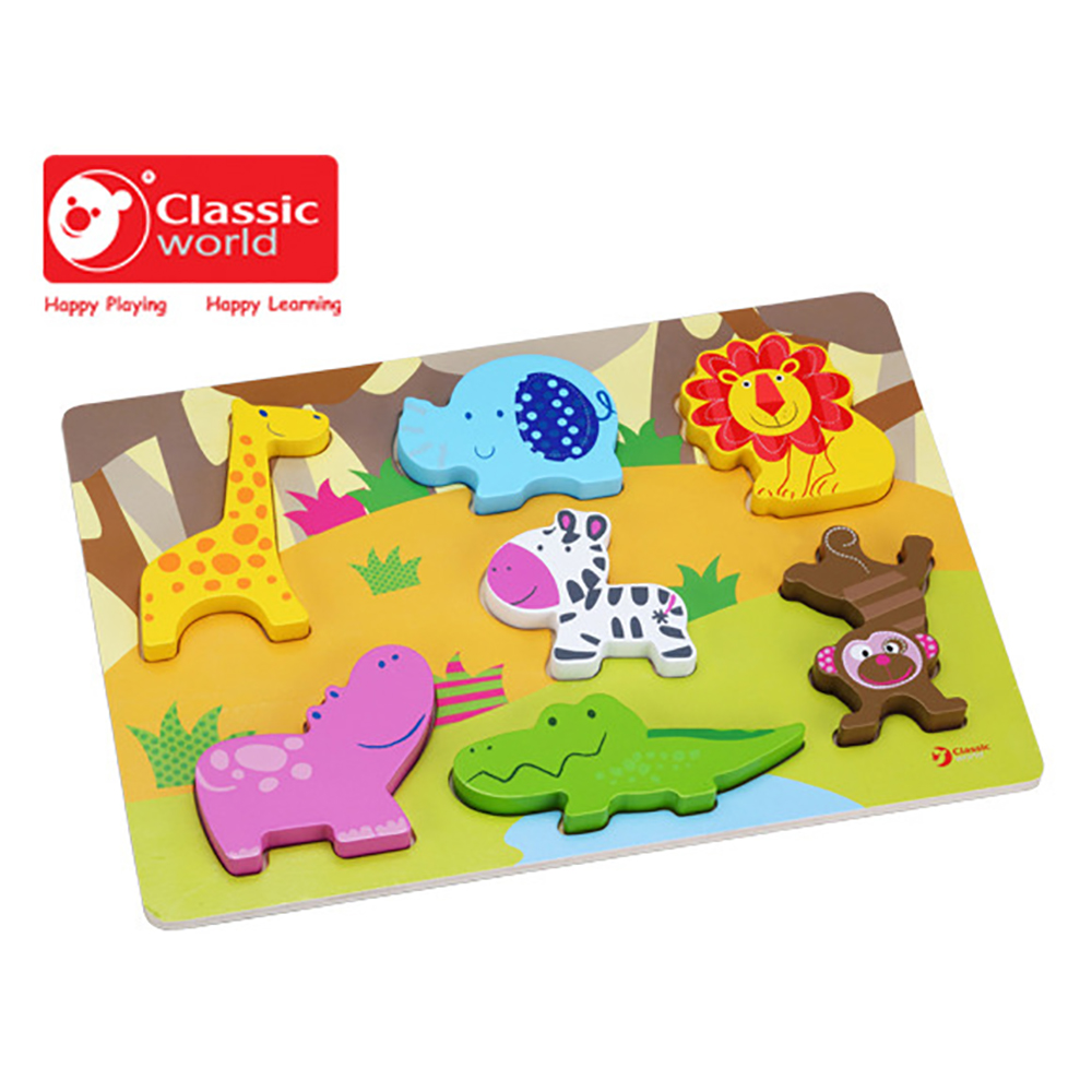 CLASSIC WORLD 3D 動物拼圖