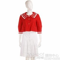 BLUMARINE 白色花邊裙子
