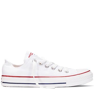 CONVERSE-中童鞋3J256C-白