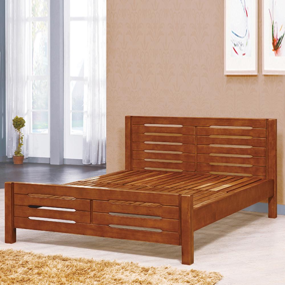 AS-愛爾頓3.5尺全實木三段可調式床台-108.5x201x90cm
