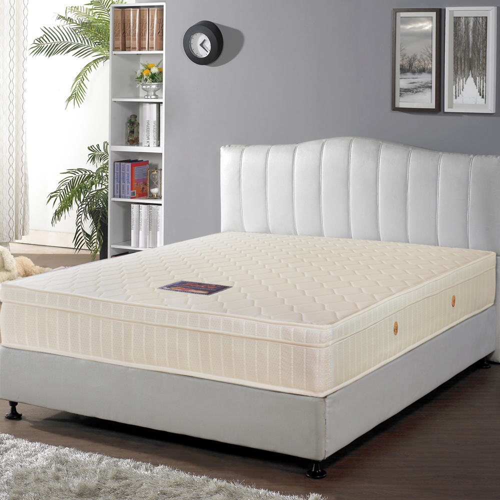 LooCa 經典防潑水蜂巢式獨立筒床墊(加大)