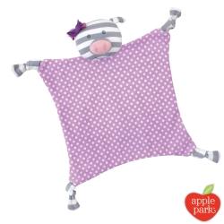 美國 Apple Park 農場好朋友系列 有機棉安撫巾 - 佩妮小豬