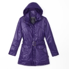 歐都納 PRIMALOFT 女款防風/透氣/超輕保暖外套 A-G1274W 深紫