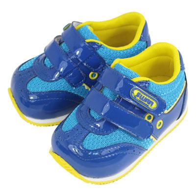 Swan天鵝童鞋-乖寶寶漆皮機能鞋1501-藍