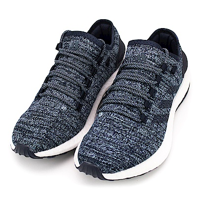 ADIDAS-男慢跑鞋S80789-藍