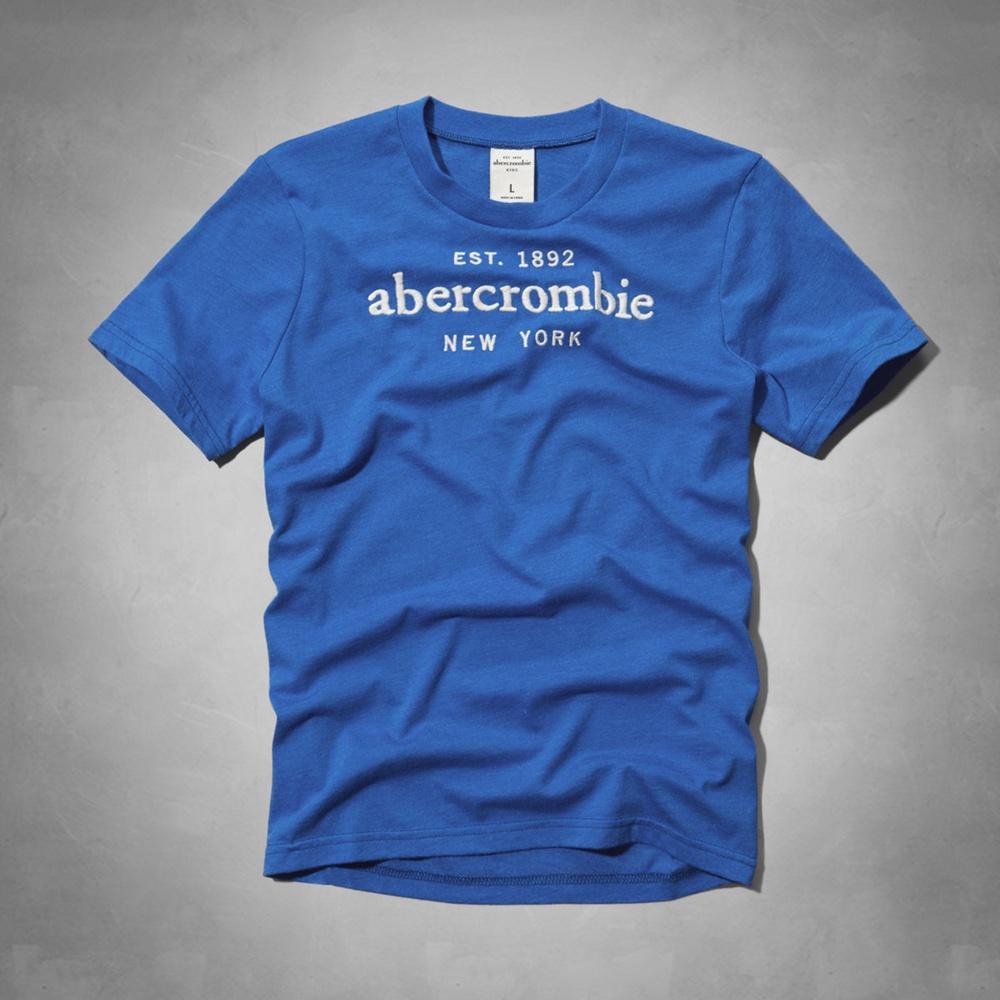 AF a&f Abercrombie & Fitch 短袖 小孩T 藍色 023