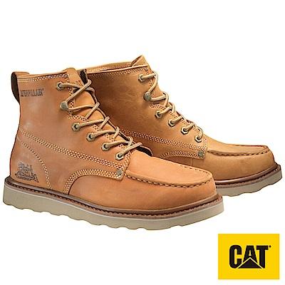 CAT GLENROCK MID 時尚潮流系列男靴-卡其(722103)