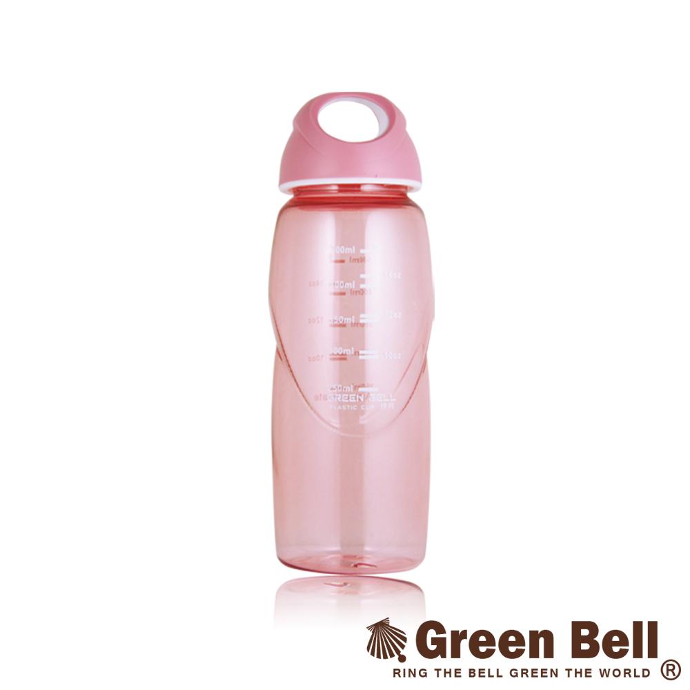 GREEN BELL綠貝輕巧隨手水壺500ml-粉紅