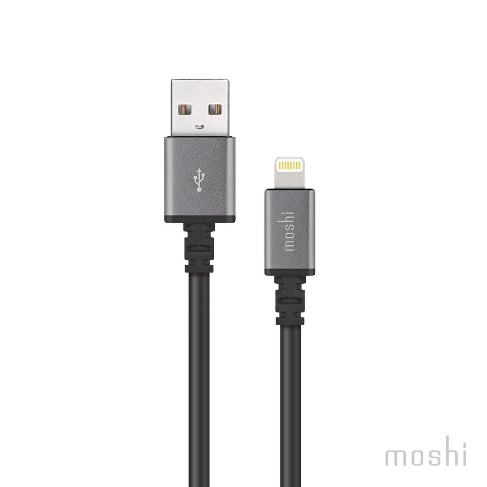 Moshi Lightning USB 傳輸線 ( 3M )-黑色