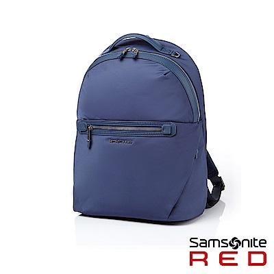 Samsonite RED CARLEIGH 輕量女用商務筆電後背包13吋(藍)