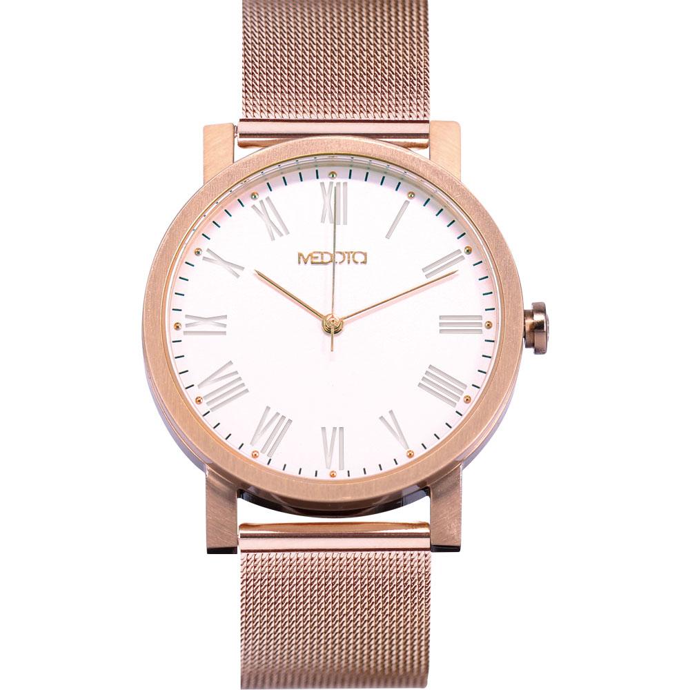 MEDOTA 極簡輕薄手錶系列 – 男錶 玫瑰金/40mm