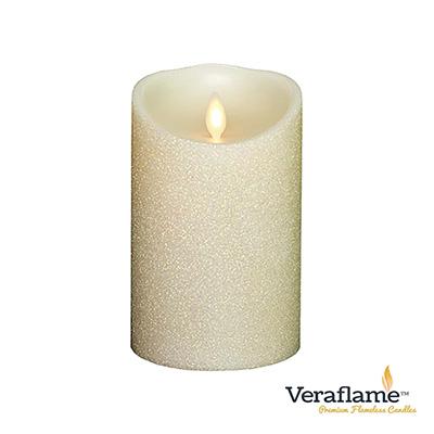 Veraflame 擬真火焰搖擺蠟燭-白粉蔥