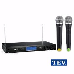 台灣電音TEV VHF雙頻道無線麥克風 TR-696