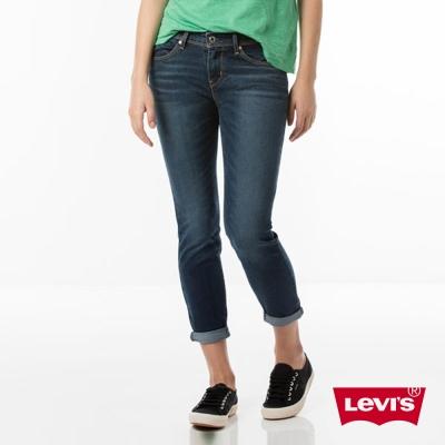 Levis 女款 Revel 中腰緊身提臀牛仔長褲 九分褲 超彈力塑型布料