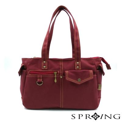 SPRING-MIT帆布包托特包-肩背包