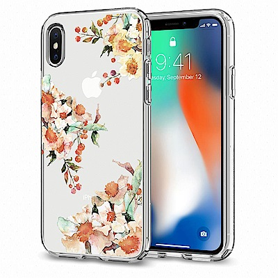 SGP iPhone X Liquid Crystal-超輕薄型彈性保護殼