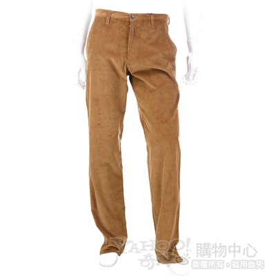 KENZO 棕色絨質休閒長褲