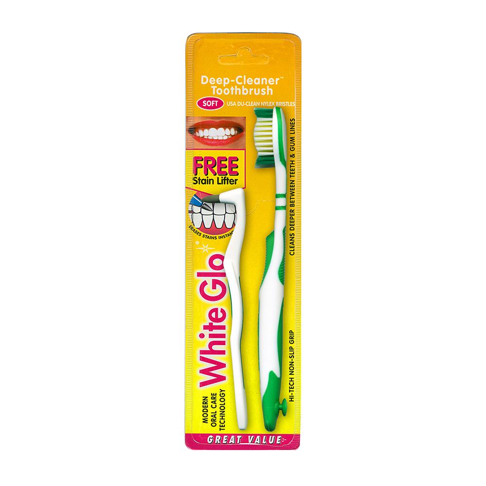 澳洲White Glo 美白潔淨牙刷組(Deep Cleaner)