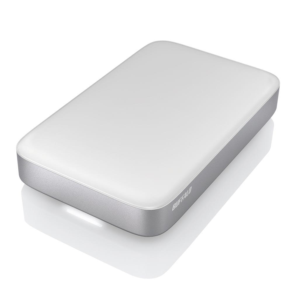 Buffalo Thunderbolt+USB3.0 1TB雙介面行動硬碟