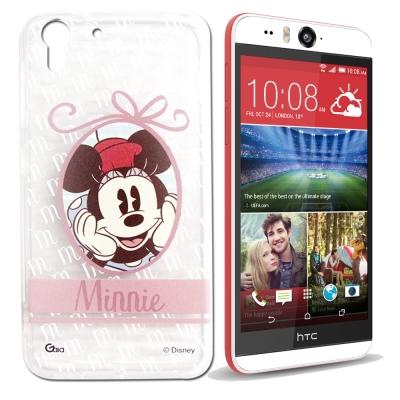 迪士尼HTC Desire EYE M910X徽章系列透明彩繪手機殼