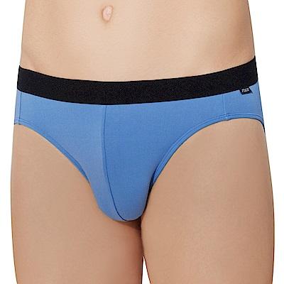 SOLIS 活力鍺系列M-XXL素面貼身三角男褲(北極藍)