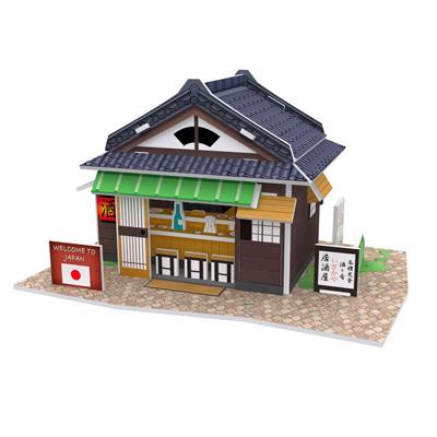 世界之窗 3D立體拼圖 《日本》 居酒屋 3D World Style