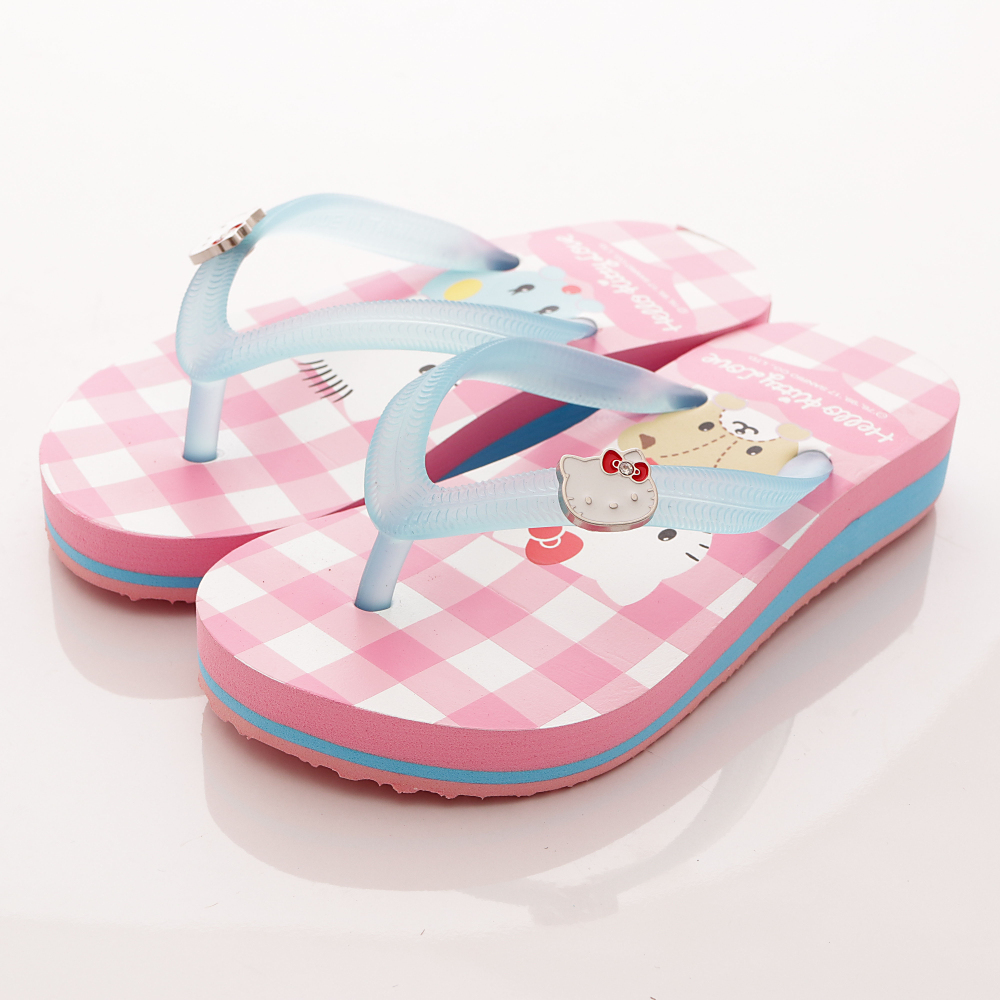 HelloKitty童鞋 厚底拖鞋 17940 粉 (中大童段)T1