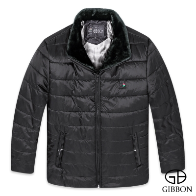 GIBBON 保暖設計款鋪棉外套‧黑色M-XXL
