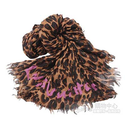 LV M72215 限量新品豹紋時尚圍巾披肩